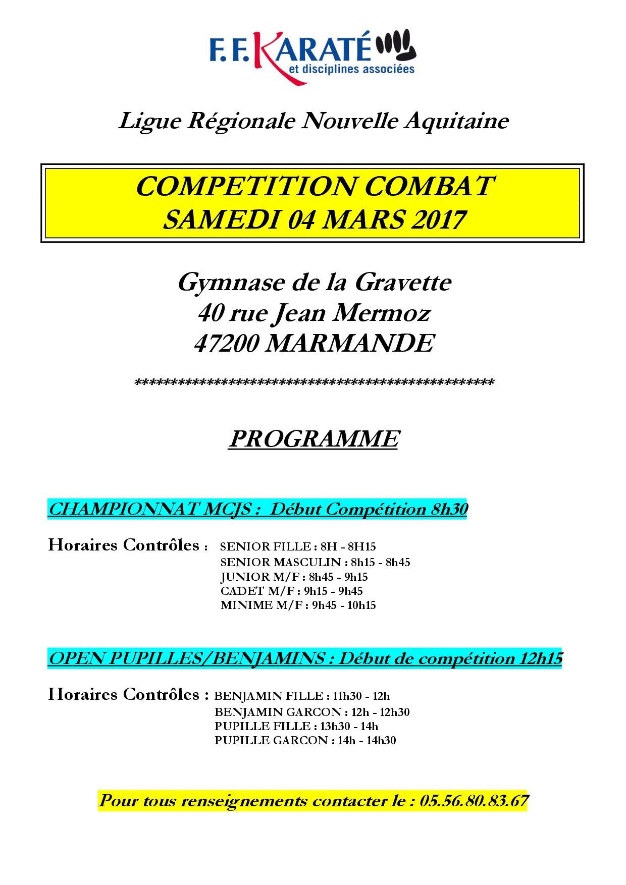 Combats marmande 04 03 17 1