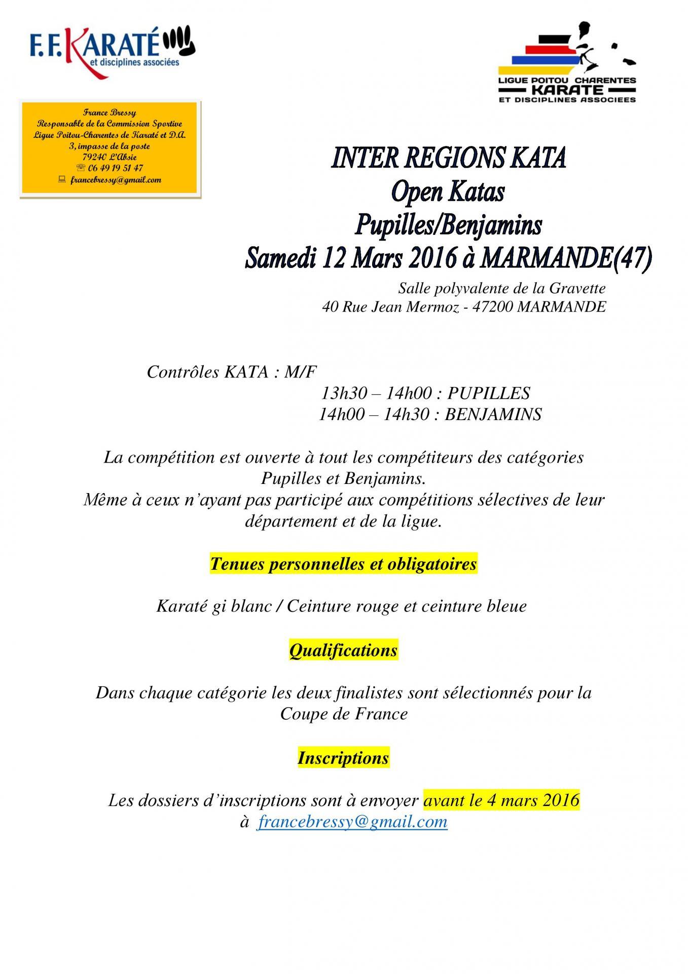 Inter regions katas